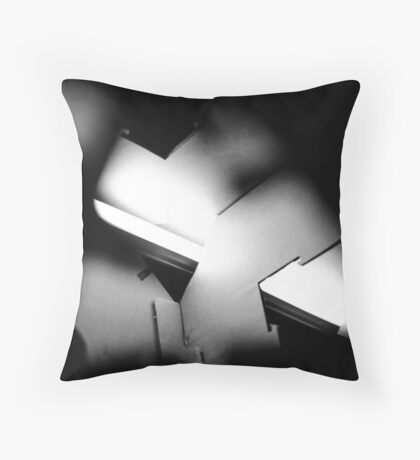 Puzzling Emotions Throw Pillow