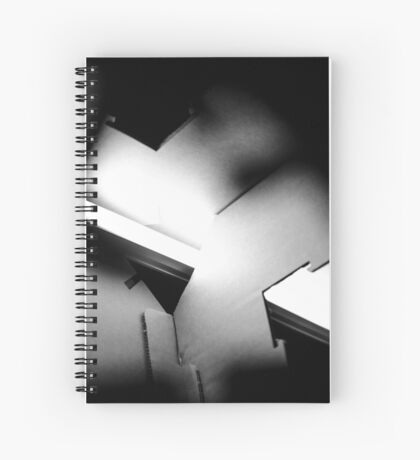 Puzzling Emotions Spiral Notebook