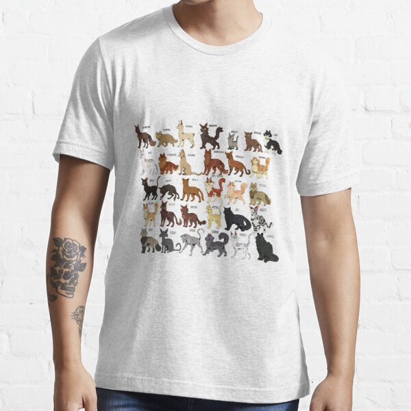 """Warrior Cats - The letter """"A"""" Essential T-Shirt"""