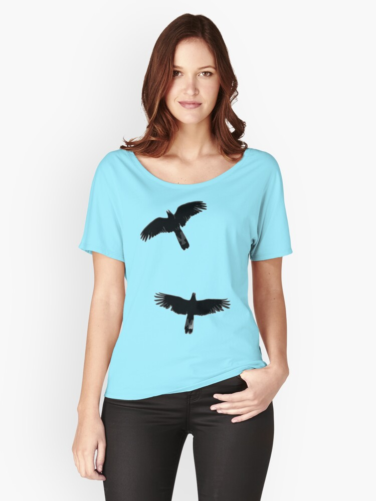 Fly Away With Me Women's Relaxed Fit T-Shirt Front