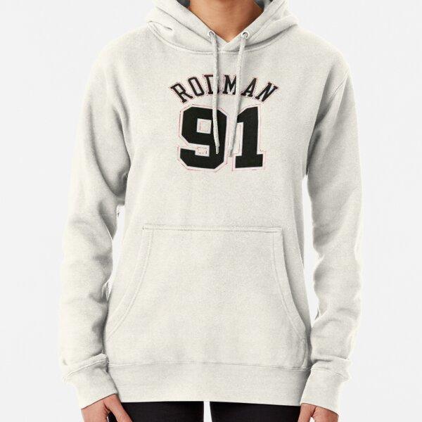 Dennis Rodman 91 Pullover Hoodie