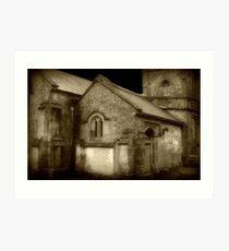 Gothic Church ©  Art Print
