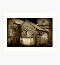 Gothic Church ©  Art Print