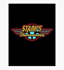 Stark's Shawarma Photographic Print