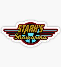 Stark's Shawarma Sticker