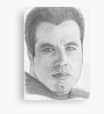 John Travolta Metal Print