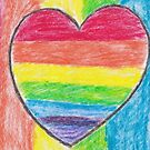 Rainbow Heart by CHClepitt