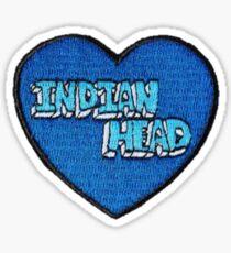 Indisches Hauptherz Sticker