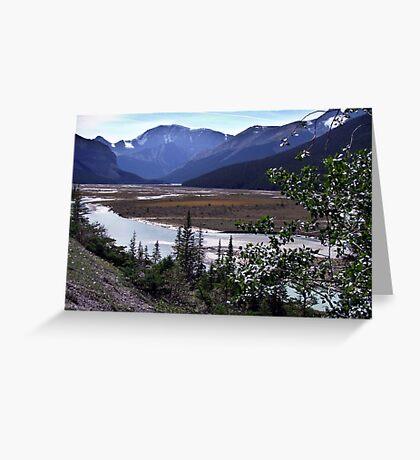 Beauty Creek Flatlands Greeting Card