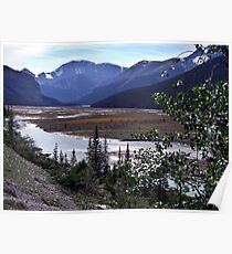 Beauty Creek Flatlands Poster
