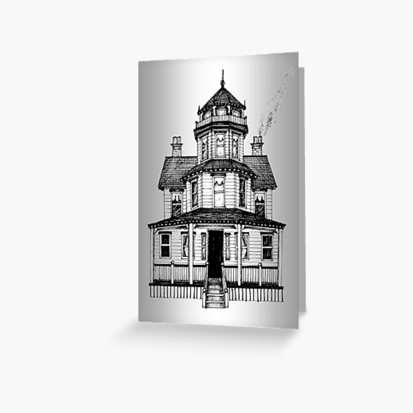 Home Sweet Home Greeting Card (Blank) Greeting Card