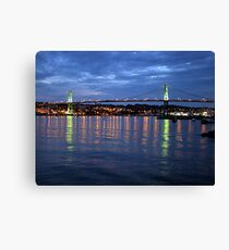 Early Evening-Halifax Canvas Print