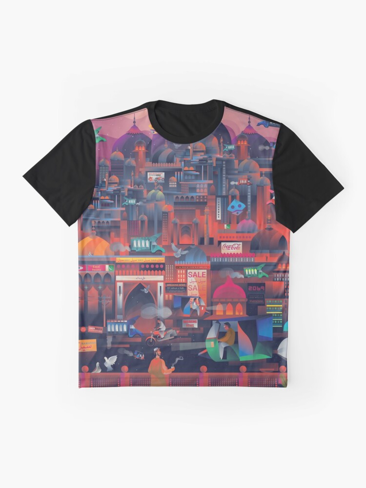 Cyber-Lahore | Graphic T-Shirt