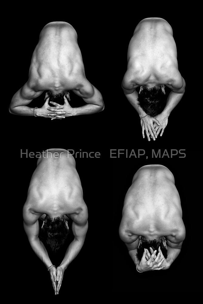 Manscape X 4 by Heather Prince