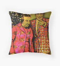 Dick & Golda Throw Pillow