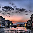 Grand Canal at sunset by andreisky