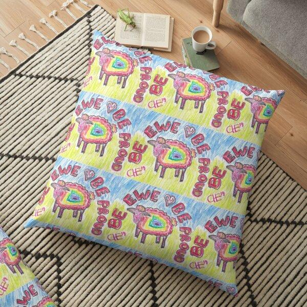 Be Ewe, Be Proud Floor Pillow