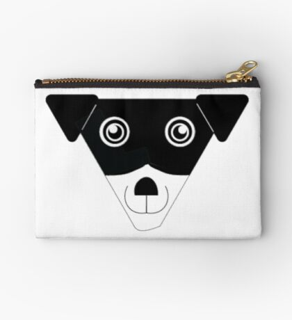 Carl! Zipper Pouch