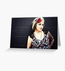 Boss Lady Grußkarte