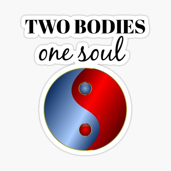 Twin Flame | Soul Mate | Twin Flame Relationship | Runner Chaser Present  Sticker