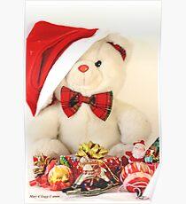 Teddy Bear's Xmas Poster