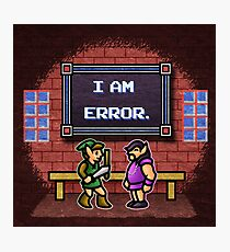 I am Error Photographic Print