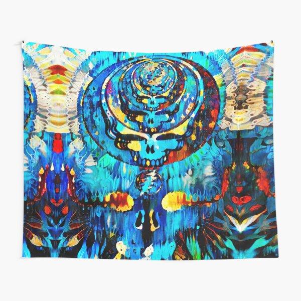 Dripping Indigo Tapestry