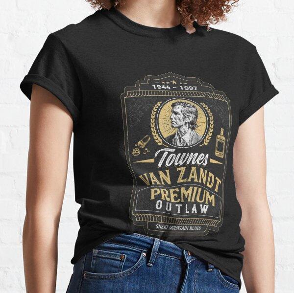 Townes Van Zandt:Premium Outlaw Classic T-Shirt