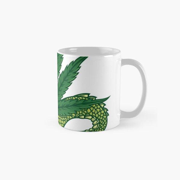 Marijuana Dragon - White With Vutra Classic Mug