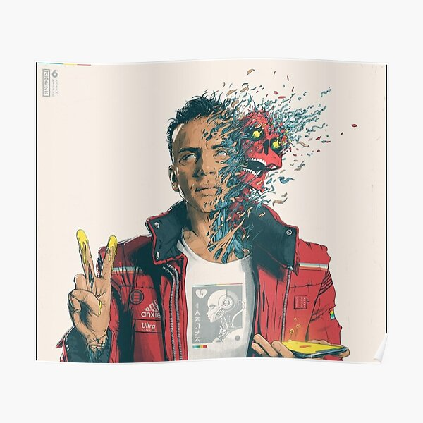 Logic album cover dangerous mind Poster