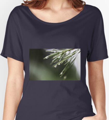 Regen und Pinien Loose Fit T-Shirt
