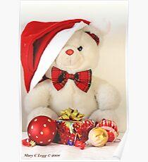 Mr Teddy Bear has a present Poster