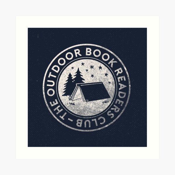 Logo du Club de lecture en plein air Impression artistique