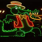 Jazzy Alligator at Orleans Casino, Las Vegas by Henry Plumley