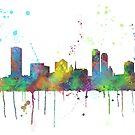 Milwaukee, Wisconson-Skyline von Marlene Watson