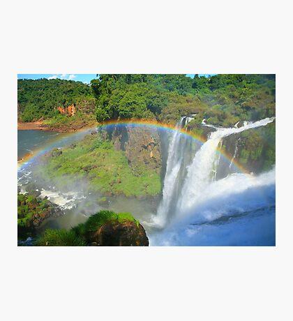Iguazu Rainbow Photographic Print