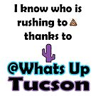 I know who is rushing to poop thanks to Whats Up Tucson by whatsuptucson