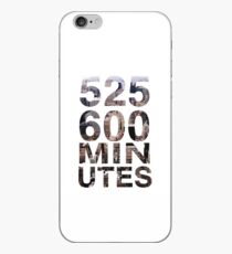 525,600 minutes iPhone-Hülle & Cover