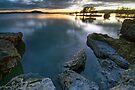 Sunrise, Lake Rotorua by Michael Treloar