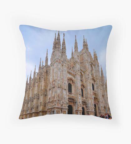 "Temples - ""Duomo di Milano (IT)"" - III Throw Pillow"