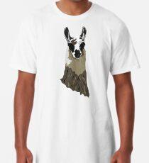 Llama Long T-Shirt