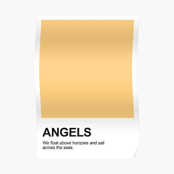Angels Pantone Poster