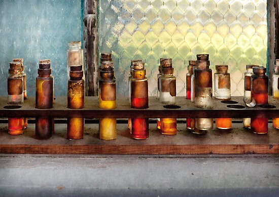 Chemistry - The Samples  by Michael Savad