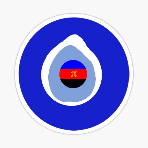 Polyamourus Protector Nazar Sticker