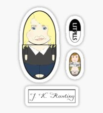 LitPills - J. K. Rowling (Modern Series) Sticker