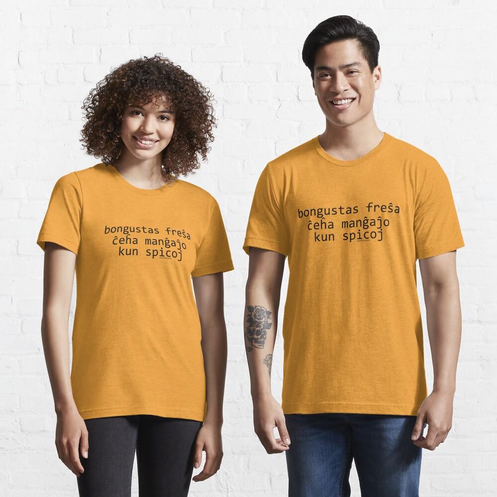 Bongustas freŝa ĉeĥa manĝaĵo kun spicoj Essential T-Shirt