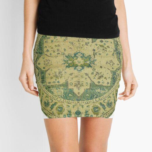 Pattern, ornament, embroidery, carpet, knitting, weaving, design Mini Skirt