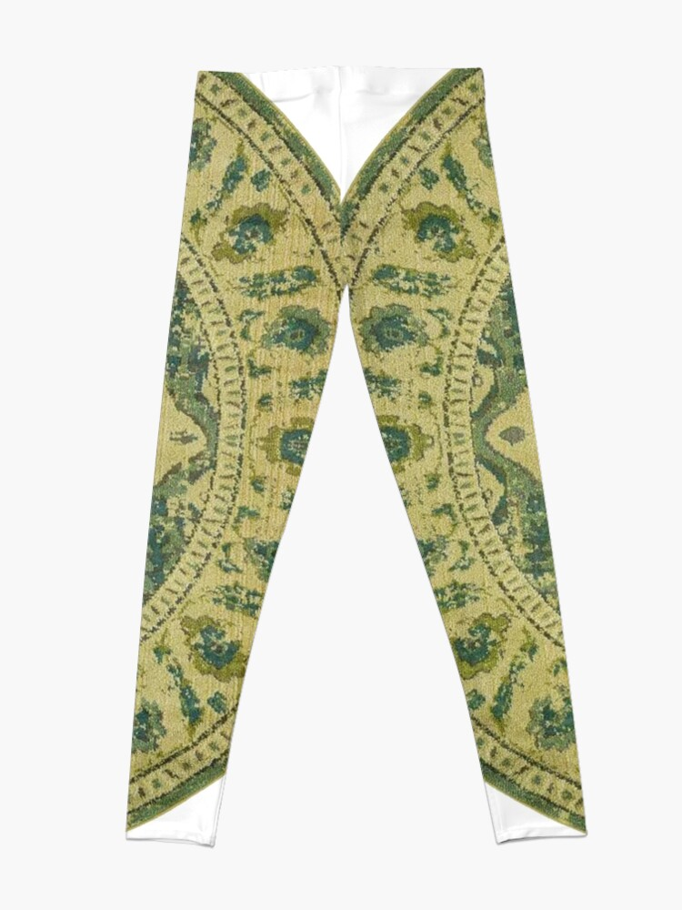 Alternate view of Pattern, ornament, embroidery, carpet, knitting, weaving, design Leggings