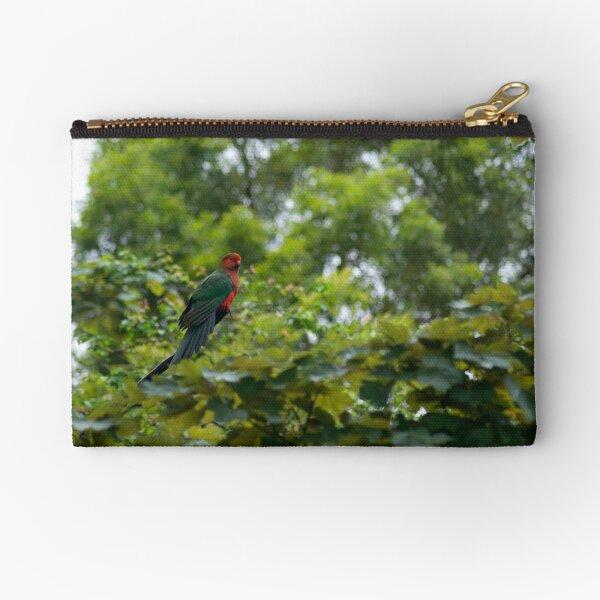 King Parrot Zipper Pouch