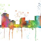 New Orleans, Louisiana-Skyline von Marlene Watson